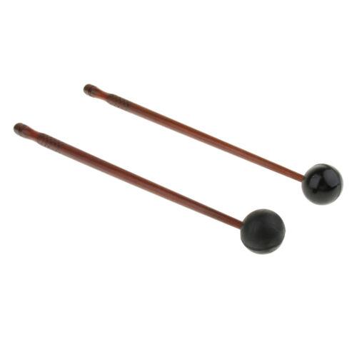 Trommelstöcke mit 2 Paar Professional Drumsticks Schlagzeug Zubehör