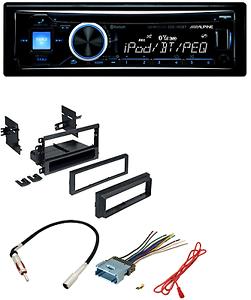 Car Radio Stereo Dash Kit Harness Antenna for GM GMC Chevy Cadillac Pontiac