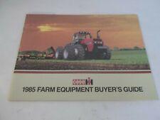 1985 Case Ih Farm Equipment Buyers Guide Models 4894 684 4494 484 2294 2394
