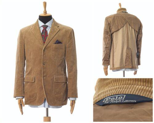 Mens POLO RALPH LAUREN Corduroy Blazer Coat Jacket