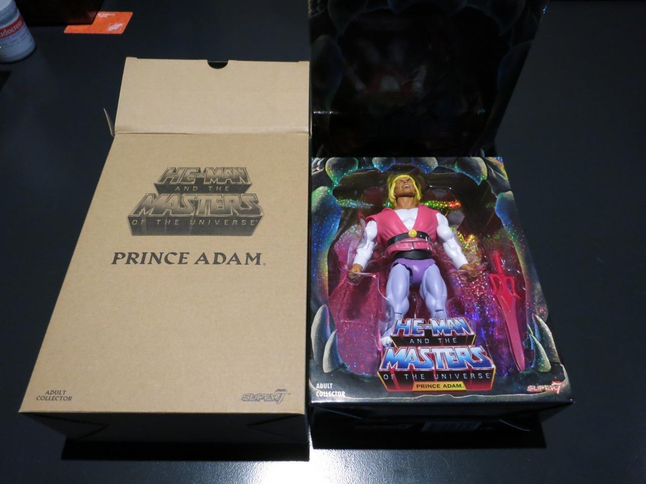 Super 7 He-Man MOTU Classics Laughing PRINCE ADAM Filmation SDCC Exclusive