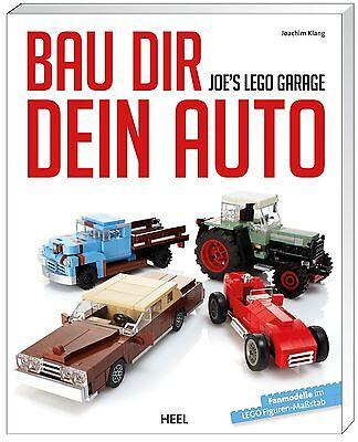 Fachbuch Joe's Lego®-garage, Modelle Details Und Tipps Zum Thema Fahrzeuge, Ovp