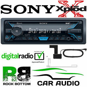 Sony-DSX-A500BD-Car-Stereo-DAB-Radio-Bluetooth-MP3-iPhone-iPod-Player-amp-Aerial
