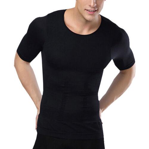 Men Waist Cincher Body Slimming Shaper Vest Abdomen Compression Corset Vest Tops