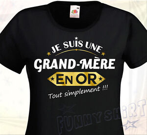 Idée Cadeau Mamie 80 Ans.Détails Sur T Shirt Femme Grand Mere En Or Idée Cadeau Fête Grands Méres Mamie Anniversaire