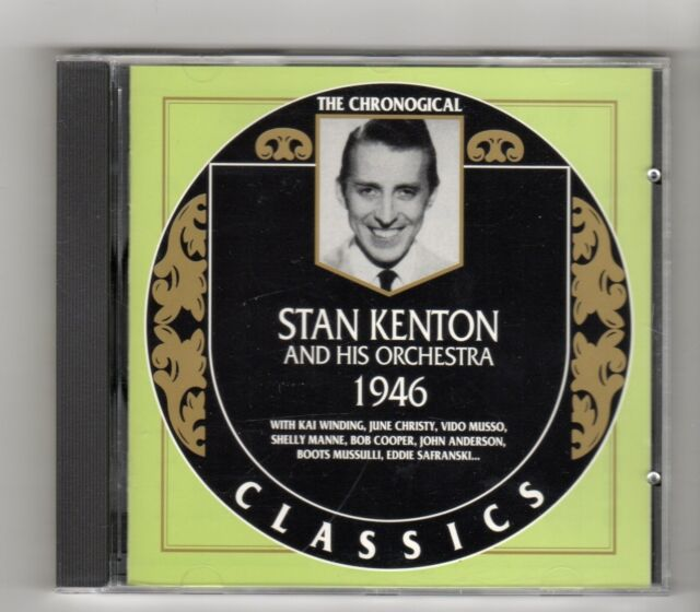 (IL741) Stan Kenton & His Orchestra 1946, The Chronological Classics - 1997 CD