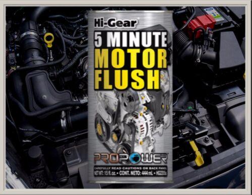 antes de cambio de aceite todos los coches de gasolina//diesel Hi-Gear 5 minuto Motor Motor Flush