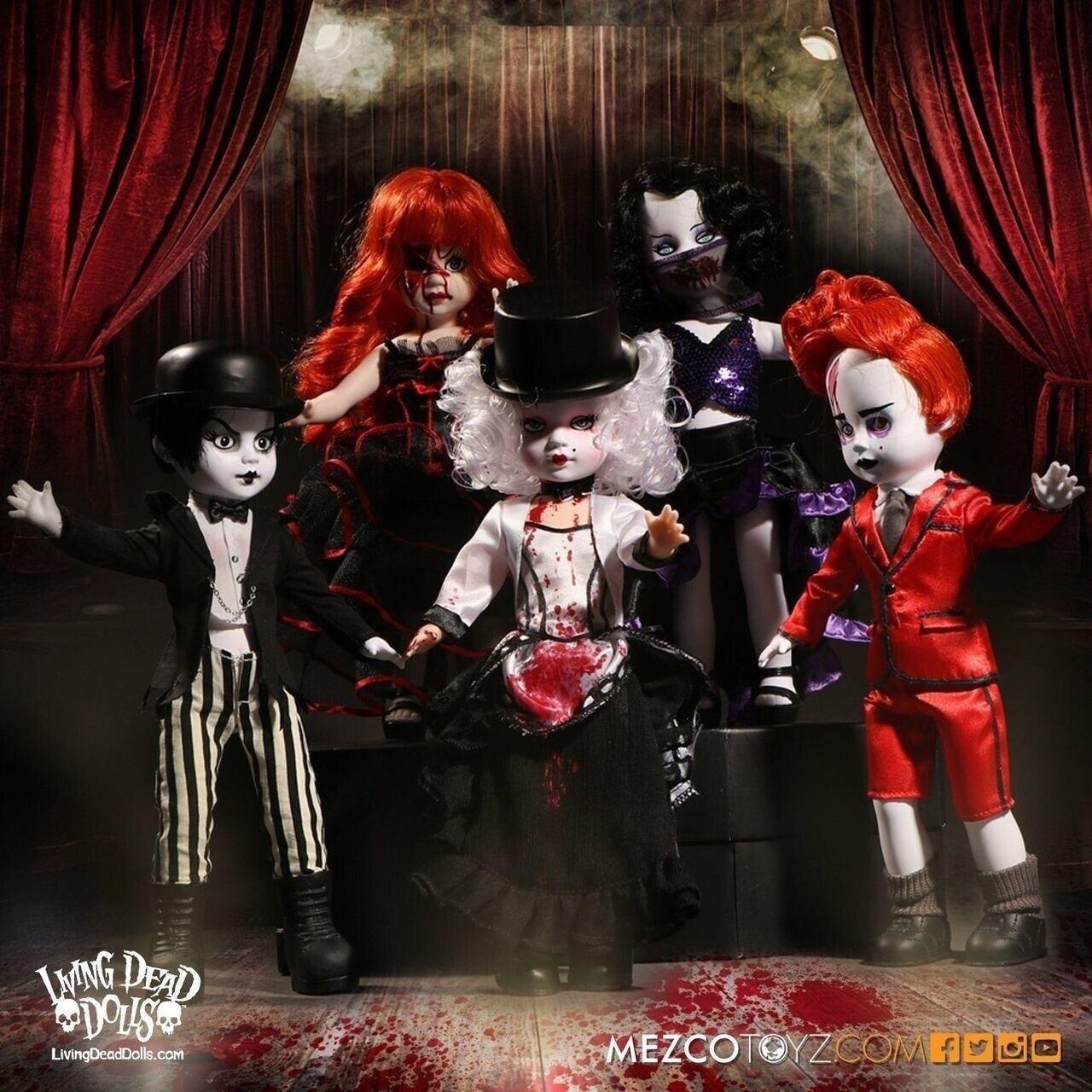 Mezco Toyz Living Dead Dolls Series 33-Juego de 5
