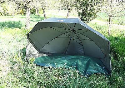 "Oval Brolly Oval Shelter CK Mk2 60"" Karpfenzelt Schirmzelt Angelzelt"