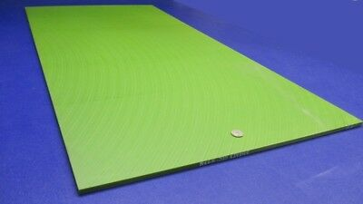 "Oil Filled .375/"" x 12/"" x 24/"" Green Cast 3//8/"" Nylon Sheet Oilon"