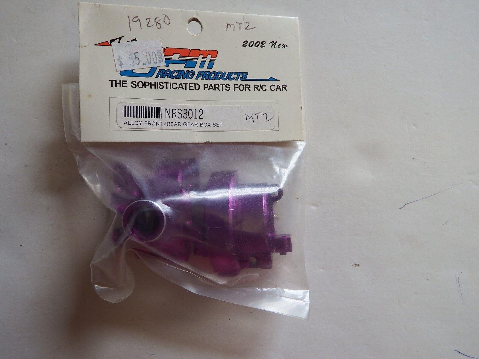 GPM Racing - púrpura ALLOY FRONT REAR GEAR BOX SET - Model  NRS3012