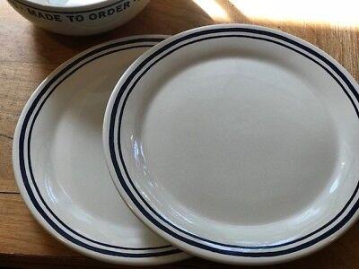 Diner Kitsch Set of 4 Made to Order Salad Plates Kate Spade Lenox Order/'s Up