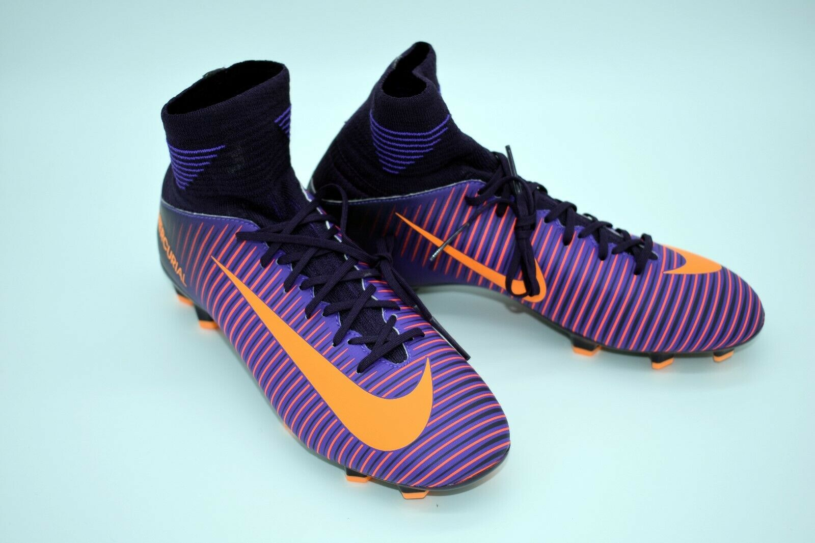 big sale fc643 233c7 Nike Jr Mercurial Superfly V FG Soccer Cleats Sz 4y 100 Auth 831943 585  Youth for sale online   eBay