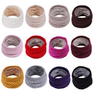 Winter-Children-Keep-Warm-Scarf-Baby-Boys-Girls-kids-Knitted-Collar-Neck-Scarves