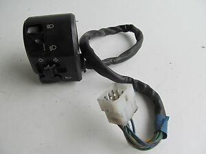 2007-07-KTM-SUPER-DUKE-SUPERDUKE-990-LEFT-LIGHT-SWITCH-DAMAGED-FOR-PARTS