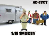 Smokey trailer Park Figure For 1:18 Scale Models By American Diorama 23873