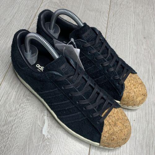 Adidas Originals Superstar Noir Baskets Taille 5 EU 38