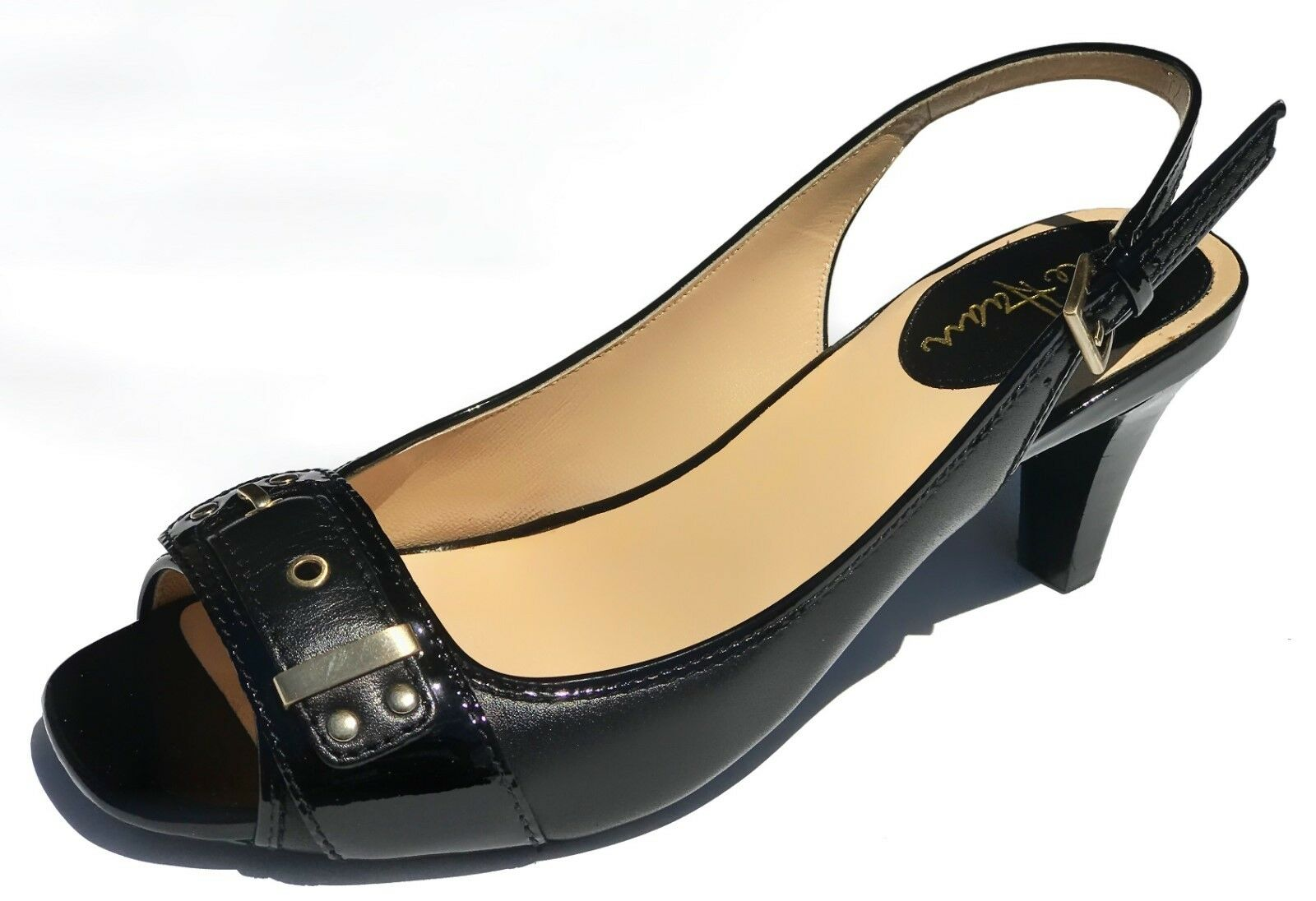 180 Cole Haan Women's Air Ivette Open Toe Slingback Heel shoes 6 NEW IN BOX
