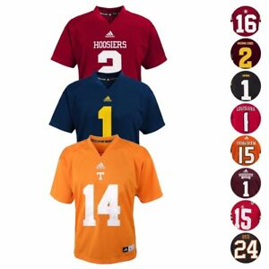 NCAA-Official-Football-Home-Jersey-Collection-by-Adidas-amp-Gen-2-Boys-Size-4-7