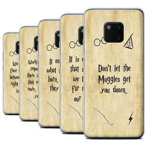 Gel-TPU-Case-for-Huawei-Mate-20-Pro-School-Of-Magic-Film-Quotes