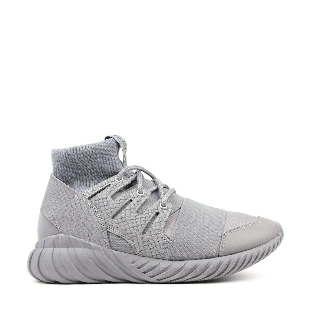 Adidas Originals Tubular Doom REFLECTIVE SNAKESKIN Luxe Textile Athletic Sneaker