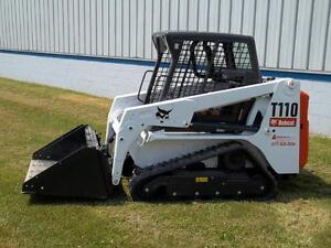BOBCAT-T110-TRACK-LOADER-OWNER-USER-OPERATION-MAINTENANCE-MANUAL