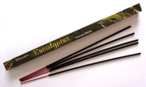 Inde Encens EUCALYPTUS régénérant Antiseptique purifiant  et apaisant