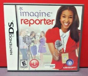 Imagine Reporter - Nintendo DS DS Lite 3DS 2DS Game Complete + Tested