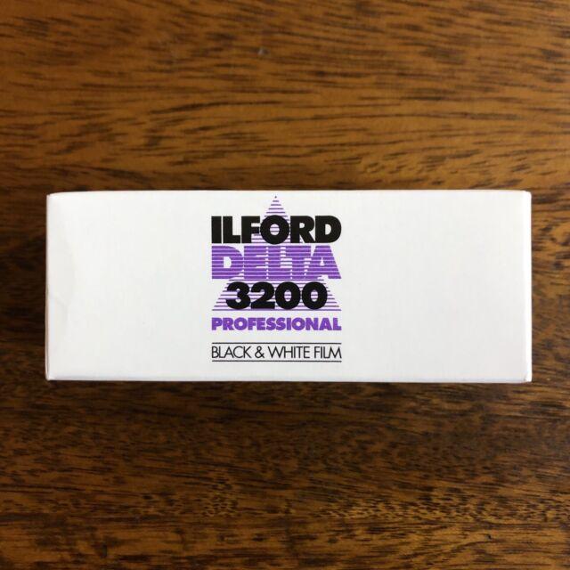 Ilford Delta 3200 ISO Professional 120 Roll - Black & White Negative Film
