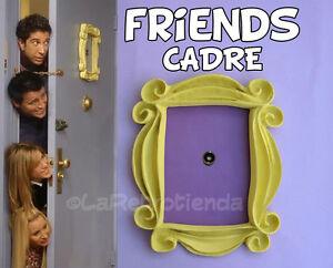 FRIENDS TV serie 🎁 cadre jaune Monica porte ❤️ vous aimer !!