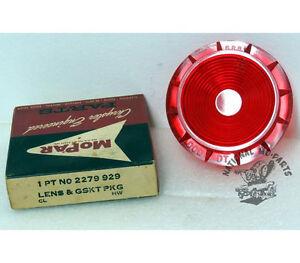 Details about Mopar NOS 1961 Dodge Dart Right or Left Hand Upper Taillight  Lens 2279929