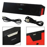 POWERFUL Portable Wireless Bluetooth Stereo 10W Speaker Support FM Alarm TF USB
