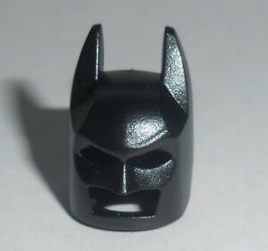 902d97e2ab9 Image is loading HEADGEAR-Lego-Batman-Mask-Cowl-Black-Angular-Ears-