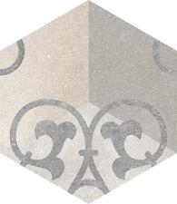 Vives Rift Hexagono Kunashir 23 x 26,6 6-Eck 1.Sorte Castelo Retro