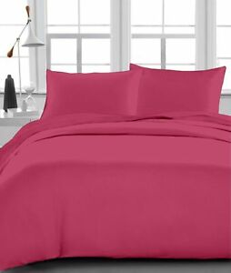 Red Striped Bedding Collection 1000 Thread Count Egyptian Cotton All UK Size