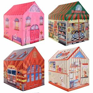 Image is loading Childrens-Designed-Play-Tent-Indoor-Outdoor-Fun-Playhouse-  sc 1 st  eBay & Childrens Designed Play Tent Indoor Outdoor Fun Playhouse Girls ...