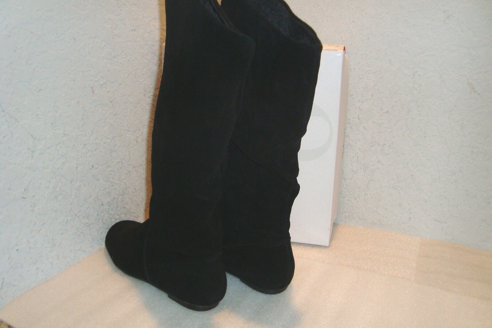 Clarks Leather Bendables Stroll Valley Black Nubuck Leather Clarks Heeled Ankle Boots 11 eb17b9