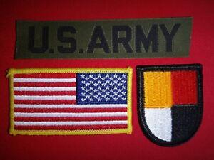 AMÉRICAIN Armée Poche Sangle + USA Inversé Drapeau Patch + 3ème Forces Spéciales D69cPWk3-09101913-203664809