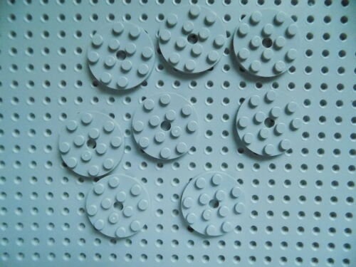 Lego Plate Round 4 x 4 with Hole part 60474 lot of 8  pick your color