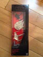 Star Wars: Black Series Titanium - 4 pack (Falcon, 2x X-Wing, TIE) -  BNIB