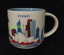 Starbucks Sydney YAH Mug Australia You Are Here Opera Bridge Darling Harbour Eye