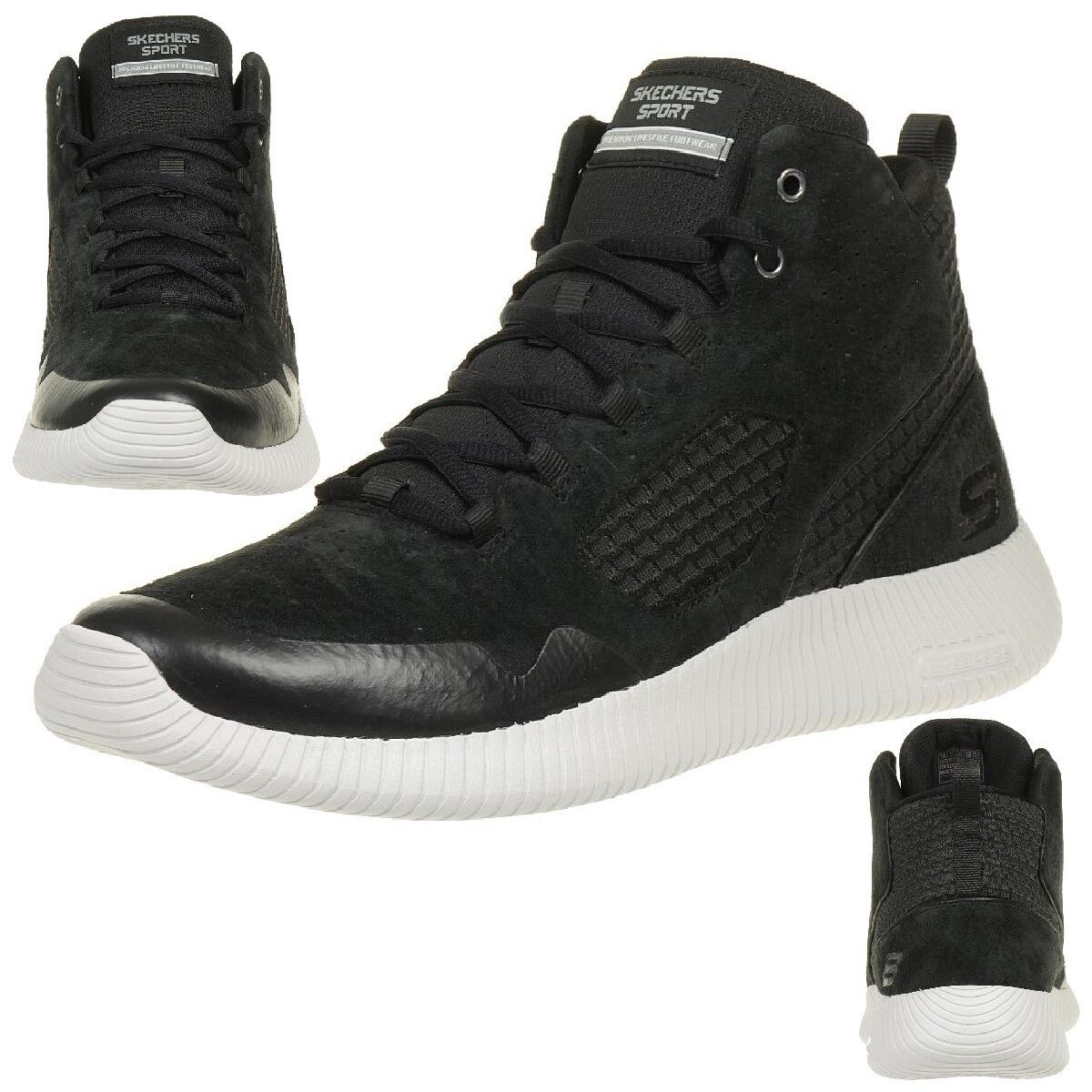 Skechers DEPTH CHARGE DRANGO Herren Sneaker Outdoor Schuhe BLK