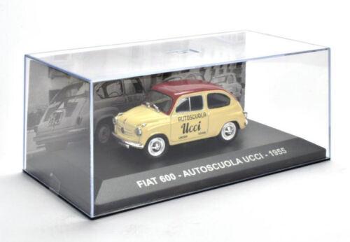 Fiat 600 Autoscuola Ucci 1955 1:43 Model EDITORIA