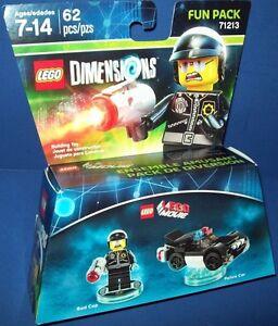 Bad Cop Minifigure Fun Pack *NEW* LEGO Dimensions 71213
