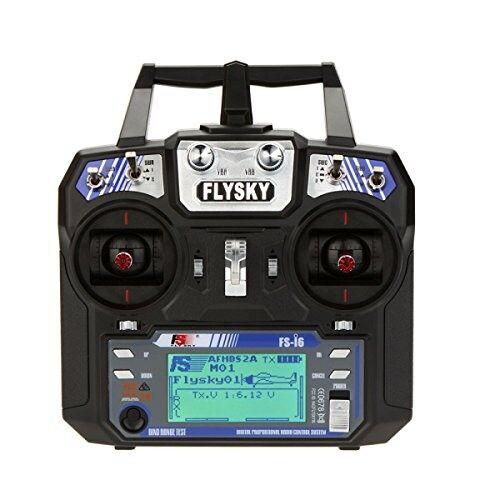 FlySky FS-i6 2.4G 6CH AFHDS RC Transmitter With FS-iA6B Receiver   EU Stock