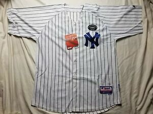 buy popular 9f602 21590 Details about Authentic Majestic New York Yankees Mariano Rivera Jersey  GEORGE STEINBRENNER