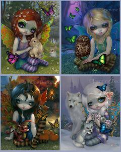 Image is loading Jasmine-Becket-Griffith-SIGNED-4-Seasons-Art-Prints-