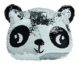 ANGEBOT-5-x-Kissen-Pandabaer-Kopf-m-Pailette-Panda-Kinderzimmer-UVP-18-99-2