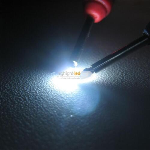 100 LED SMD 0603 Bianco SMDs Bianco Mini LED WHITE Blanch