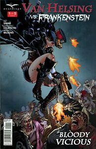 Van Helsing Vs The Werewolf #1 ~ Zenescope comic 1B cover